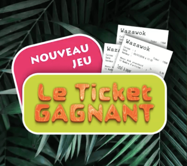 Image article [ #WAZAGAME 🎁 ] Le ticket du mois !