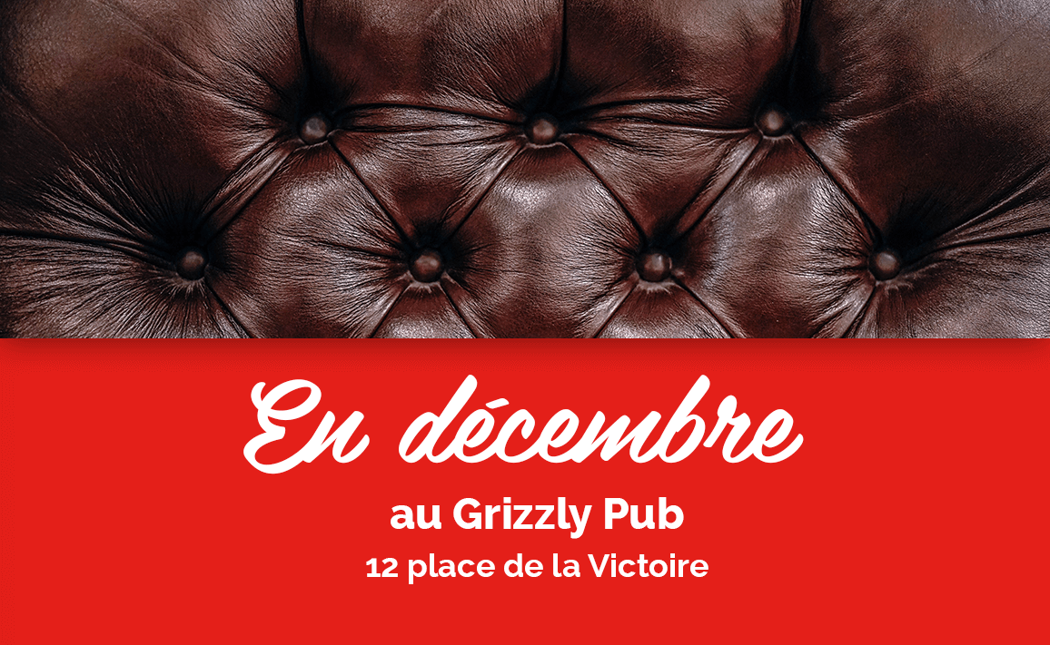 Image article The Grizzly Pub anime ton mois de décembre !